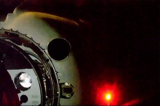 فیلم | لحظه اتصال دراگون به ایستگاه فضایی بینالمللی
