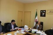 دیدار اعضای ستاد برگزاری هفته منابع طبیعی با مدیرکل صداوسیمای مرکز کرمان