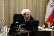 آملي لاريجاني يدعو قائد الثورة الإسلامية لتعيين رئيس جديد للسلطة القضائية