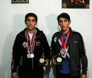 درخشش دو قلوهای ایلامی در مسابقات بینالمللی دو و میدانی تهران
