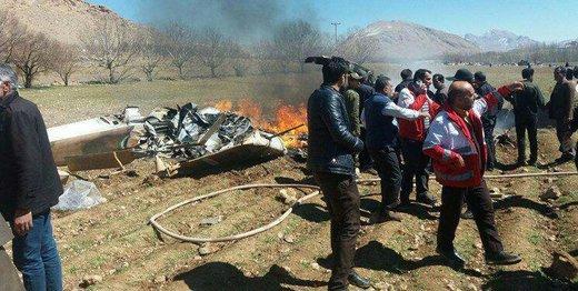 فیلم | آخرین جزییات درباره سقوط بالگرد اورژانس در شهرکرد