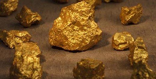 نیم تن سنگ طلای قاچاق در ورزقان
