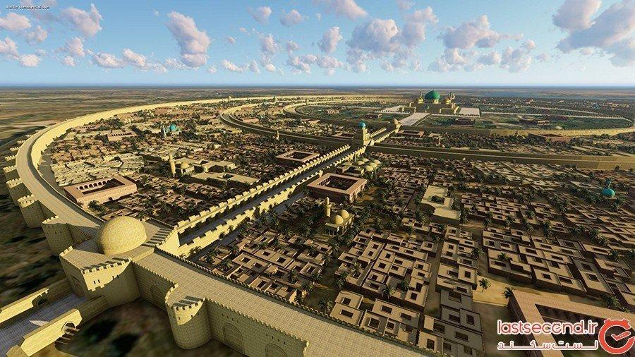 شهر عجیب دایره ای بغداد