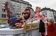 تصاویر   کارناوال آلمان با ترامپ، پوتین و می رنگوبوی سیاسی به خود گرفت