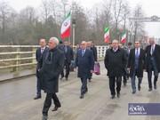 وزیر حملونقل و مدیرعامل راهآهن جمهوری آذربایجان از مرز زمینی آستارا وارد ایران شدند/ تصاویر