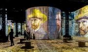 تصاویر | نمایشگاه دیجیتالی آثار ونسان ون گوگ در پاریس