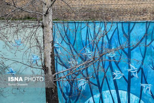 قطع درختان تهران