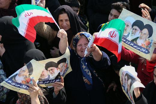 سخنرانی رئیسجمهور در ورزشگاه تختی شهرستان لاهیجان