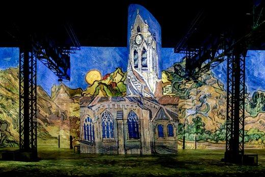 نمایشگاه دیجیتالی آثار ونسان ون گوگ