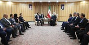 روحانی: اراده رهبری، دولت و مجلس ایران همکاری برادرانه با عراق است