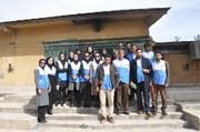 مانور برنامه سلامت نوروزی نیروهای بهداشت محیط در یاسوج برگزار شد