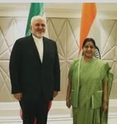 ظریف با همتای هندی تلفنی گفتوگو کرد
