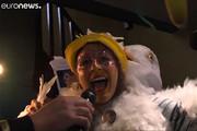فیلم | مسابقه تقلید صدای مرغ دریایی در فرانسه!