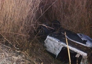تصادف مرگبار خودروی سواری در محور ورامین-تهران/ تصاویر