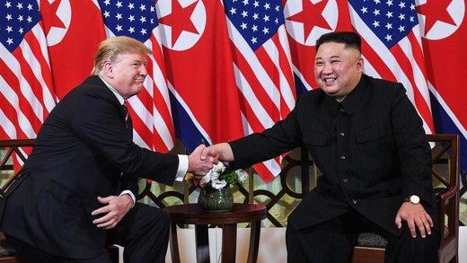 فیلم | روایت تلویزیون کره شمالی از دیدار اون و ترامپ