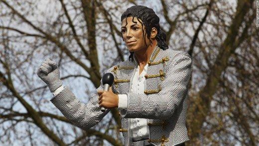 حذف مجسمه مایکل جکسون از موزه فوتبال