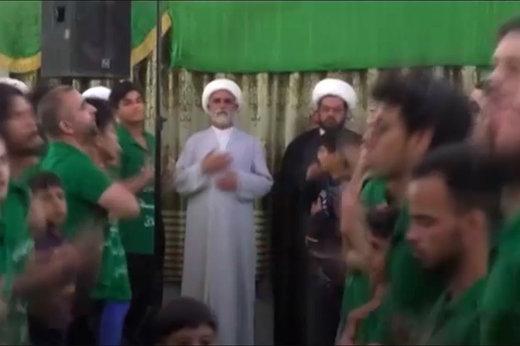 فیلم | عزاداری با نوحهخوانی رپ در عراق!