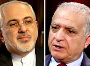 Iranian, Iraqi FMs discuss President Rouhani's Iraq visit