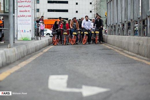 همایش بزرگ دوچرخه سواری در تهران