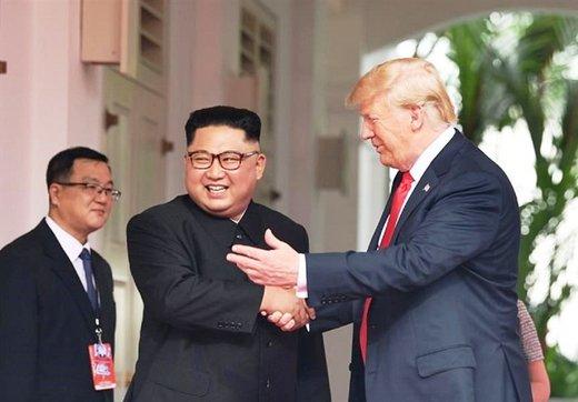 ترامپ: رابطهام با رهبر کره شمالی خوب است