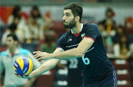 غیبت سید والیبال ایران در بازی با پرتغال