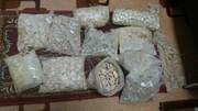 عکس | کشف ۱۱ کیلو هروئین فشرده در گمرک