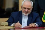 ظریف: آمریکا نمیتواند روابط ایران و عراق را متوقف کند