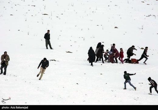 امروز بارش برف کدام استانها را سفیدپوش میکند؟