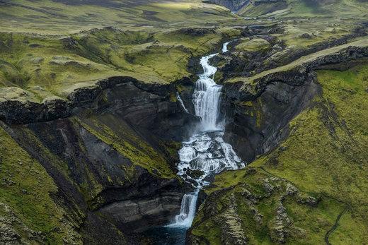 آبشار Ófærufoss  ایسلند