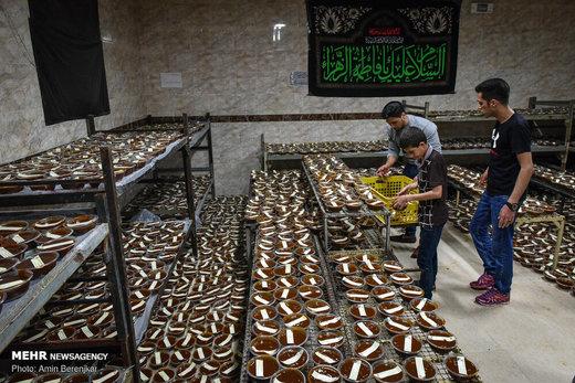 پخت ۱۰تن سمنی در شیراز