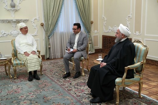 Iran ready to help restore stability in Myanmar: President