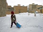 برف برخی مدارس خراسان جنوبی را تعطیل کرد