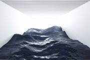 تصاویر | این امواج خروشان فقط یک اثر هنری است!