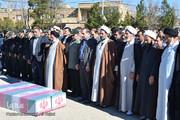 برگزاری مراسم تشییع و تدفین ۲ شهید گمنام در خرمآباد