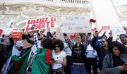 الجزایریها خطاب به ماکرون: دخالت نکن!