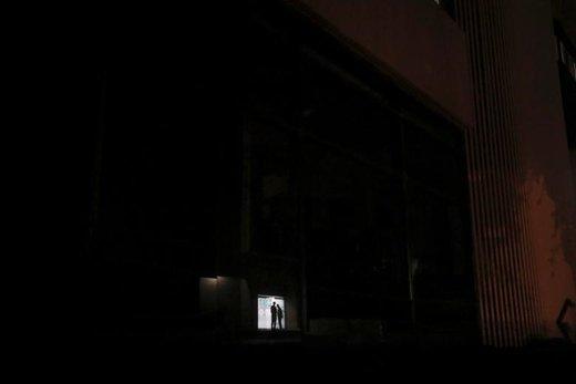 قطع برق در شهر کاراکاس ونزوئلا