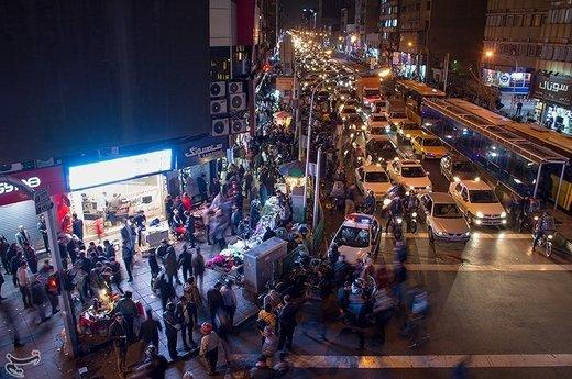 بازار تهران در روزهای آخرسال