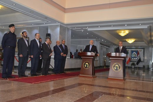 Zarif: Iran-Iraq cooperation strengthens security in region
