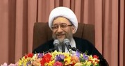 فیلم | از شوخی آیتالله لاریجانی با جنتی تا پاسخ به شایعه جاسوس بودن دخترش