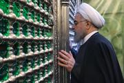 تقریر مصور| الرئيس روحاني يزور مرقد الإمامين الكاظمين