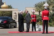 تقریر مصور| مراسم الاستقبال الرسمي للرئيس روحاني تبدأ في قصر السلام ببغداد