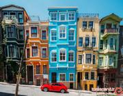 محله بالات استانبول و خانههای تاریخی رنگارنگش