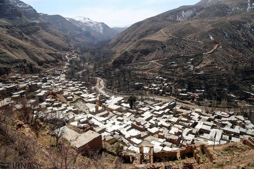 خانه تکانی مردم روستای اسفیدان