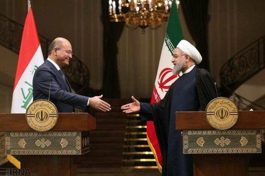 Iraq resolved to further grow ties with Iran: Salih