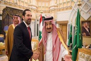 پادشاه عربستان با نخستوزیر لبنان دیدار کرد