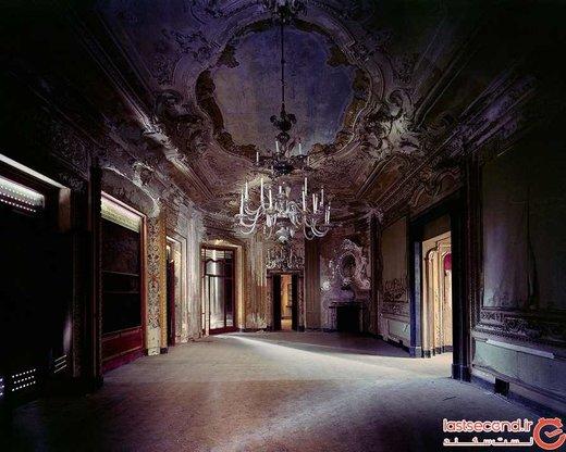 گزارشی تصویری از شکوه از دست رفته کاخهای متروکه ایتالیا
