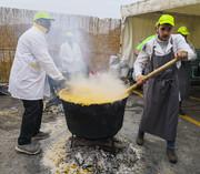 تصاویر   جشنواره حلیمپزی به سبک ایتالیاییها!