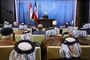 روحانی به نخبگان ، عشایر و رهبران مذهبی عراق چه گفت؟