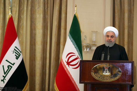 Western powers not play role in destroying terrorists in region: Pres. Rouhani