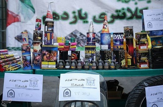 کشفیات و بازداشتیهای بیست و سومین مرحله طرح رعد پلیس پیشگیری تهران